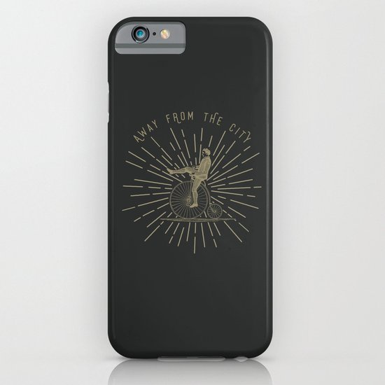 AWAY FROM THE CITY iPhone & iPod Case