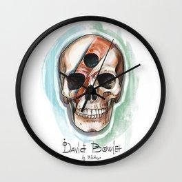 David Bowies`s Skull Wall Clock