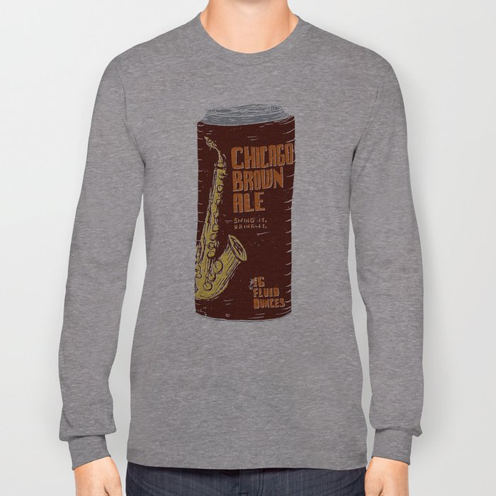 Chicago Brown Ale Long Sleeve T-shirt