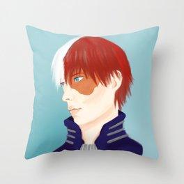 Shouto Todoroki Throw Pillow