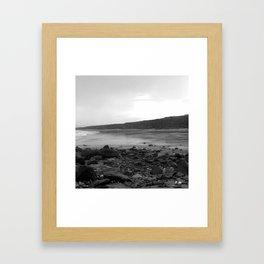 Memories of Darkened Skies Framed Art Print