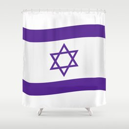 israel flag Shower Curtain