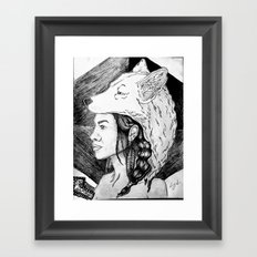 The Chamanas Framed Art Print