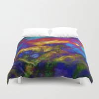 phoenix Duvet Covers featuring Phoenix by George Michael Art