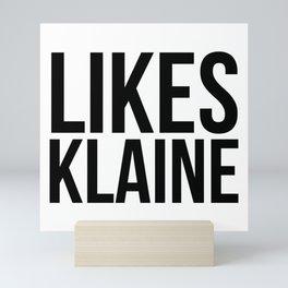 Likes Klaine Mini Art Print