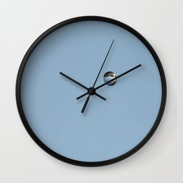 A Water Droplets Perfect Reflection Wall Clock