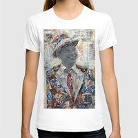 frank sinatra T-shirts featuring Frank by Katy Hirschfeld