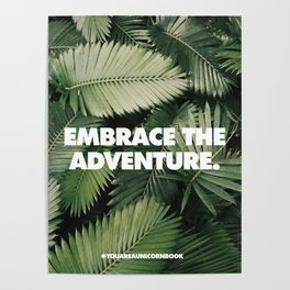 Embrace The Adventure Poster