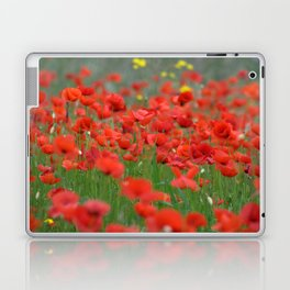 Poppy field 1820 Laptop & iPad Skin