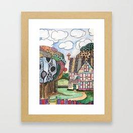 Perfect home Framed Art Print