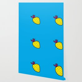 Strawberrious -Yellow/CYAN Wallpaper