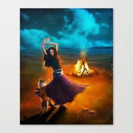 Dance Like A Dervish Canvas Print
