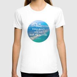 power + love T-shirt