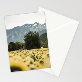 Mountain Sunflowers Stationery Cards