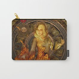 Wonderful steampunk lady Carry-All Pouch