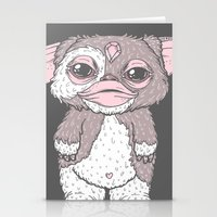 gizmo Stationery Cards featuring Gizmo by lOll3