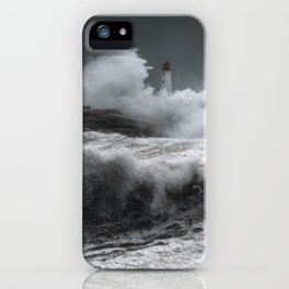 Winter Nor'Easter iPhone Case