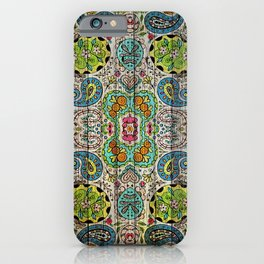 Kashmir on Wood 03 iPhone Case