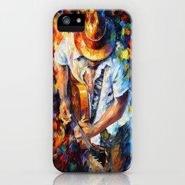 Music Love Guittar iPhone Case