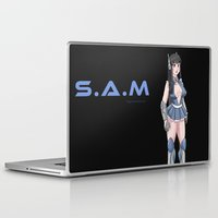 hentai Laptop & iPad Skins featuring S.A.M by Hot Gum