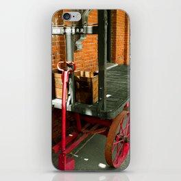 Rail Road Cart Photography iPhone Skin