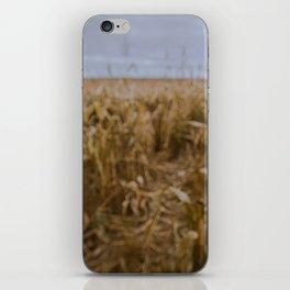 Blur Corn field iPhone Skin
