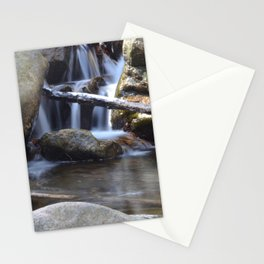 Small waterfall away from Cascade Falls Stationery Cards