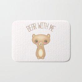 Bear With Me - Creepy Cute Teddy Bath Mat