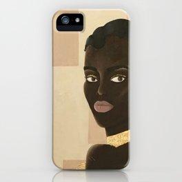 Mujer de Oro iPhone Case