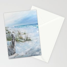 Beach Breeze Stationery Cards