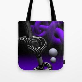 go violet -15- Tote Bag