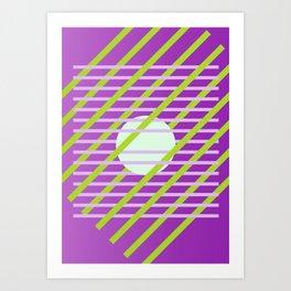 Geometric Calendar - Day 46 Art Print