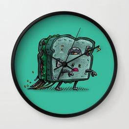 Moldy Sandwich Bot Wall Clock