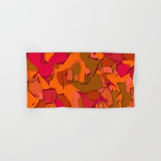 red camouflage Hand & Bath Towel
