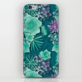Succulent Love I iPhone Skin
