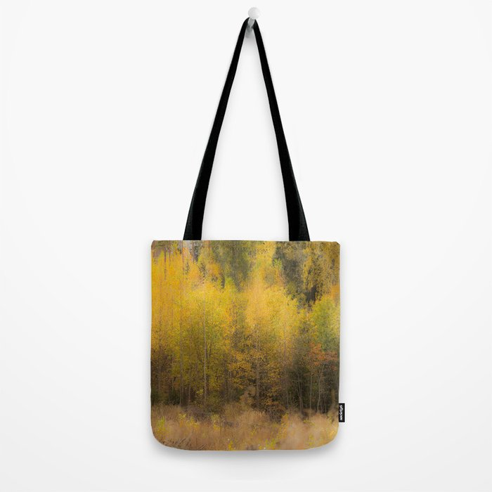 Fall color forest #decor #buyart #society6 Tote Bag