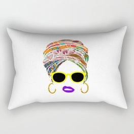 Afritude 1 Rectangular Pillow