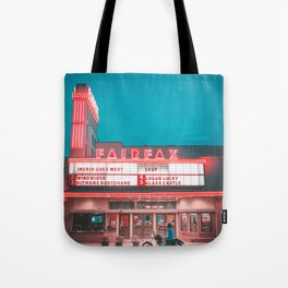 Fairfax red Tote Bag