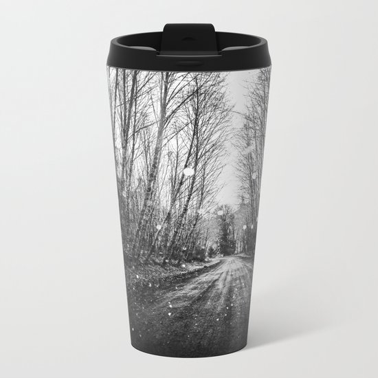 Follow the Fireflies Metal Travel Mug