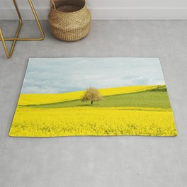 One Tree Hill landscape photograph Rug