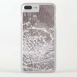 Texture #12 Glass Clear iPhone Case