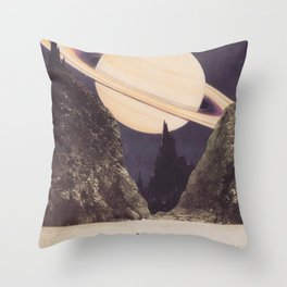 'Envisage Heliocentric' Throw Pillow