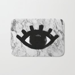 all-seeing eye Bath Mat