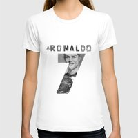 ronaldo T-shirts featuring Cristiano Ronaldo by Aeriz85