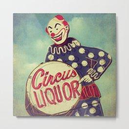 Circus Liquor, N. Hollywood, CA. Metal Print