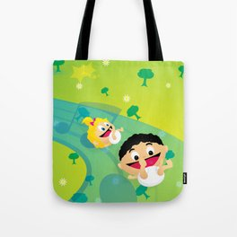 Music for Babies Tote Bag
