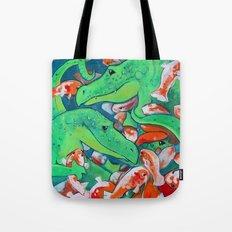 CROCODILE SMILE Tote Bag