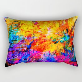 Colorful Mind Rectangular Pillow