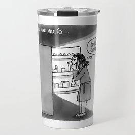 Siento un vacío... Travel Mug