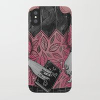 loll3 iPhone & iPod Cases featuring Witchcraft by lOll3